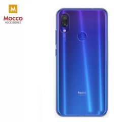 Mocco Ultra Back Case 0.3 mm Silicone Case for Xiaomi Redmi Note 7 / Note 7 Pro Transparent kaina ir informacija | Telefono dėklai | pigu.lt