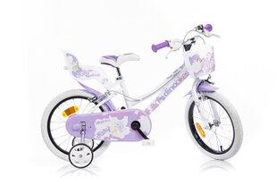"""Товар с повреждённой упаковкой. Велосипед для девочек Dino bikes 16"""", 166RSN-05"""