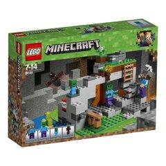 21141 Конструктор LEGO® Minecraft™ Zombi цена и информация | Игрушки для мальчиков | pigu.lt