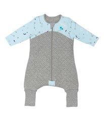 Pižama Love To Dream Warm 6-12mėn., pilka/mėlyna kaina ir informacija | Pižamos, miegmaišiai kūdikiams | pigu.lt