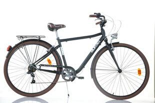 """Prekė su pažeista pakuote. Vyriškas miesto dviratis Aurella Street 1028-STU 28"""", juodas"""
