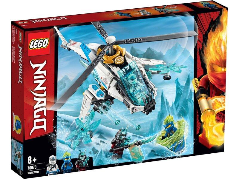 70673 LEGO® NINJAGO® Sraigtasparnis šurikenas kaina ir informacija | Konstruktoriai ir kaladėlės | pigu.lt