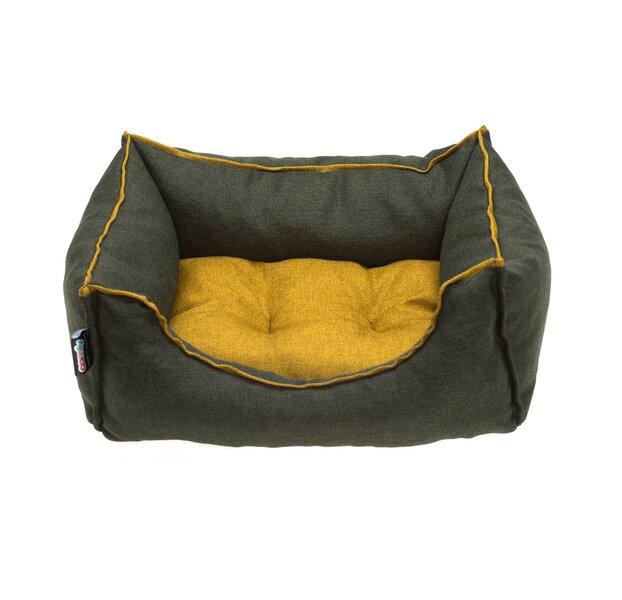 Comfy guolis Emma SOFIA green/mustard, S kaina ir informacija | Guoliai, pagalvėlės | pigu.lt