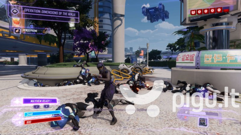 Agents of Mayhem pigiau