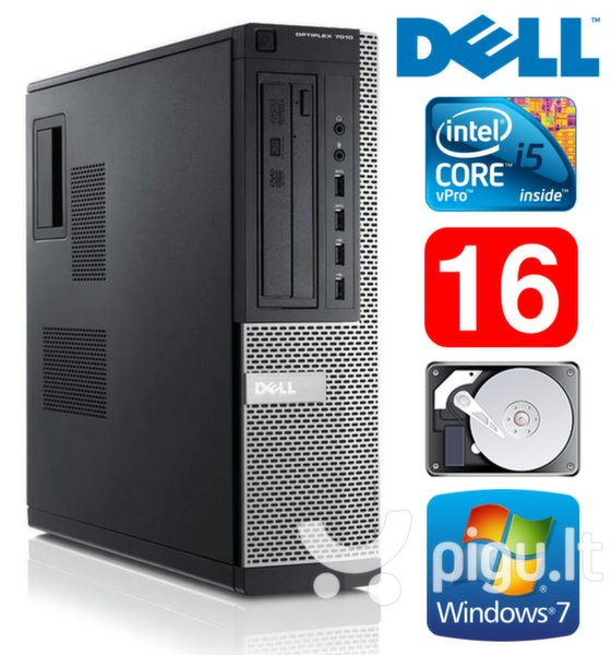 Dell 7010 DT i5-3470 16GB 250GB Windows 7 Professional