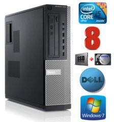 Dell 7010 DT i5-3470 8GB 120SSD+500GB Windows 7 Professional kaina ir informacija | Dell 7010 DT i5-3470 8GB 120SSD+500GB Windows 7 Professional | pigu.lt