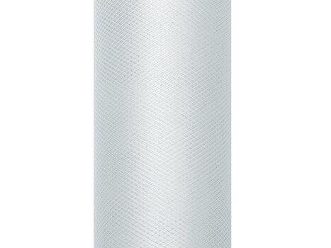 Lygus tiulis ritėje, pilkas, 0,8x9 m, 1 vnt/9 m kaina ir informacija | Dekoracijos šventėms | pigu.lt