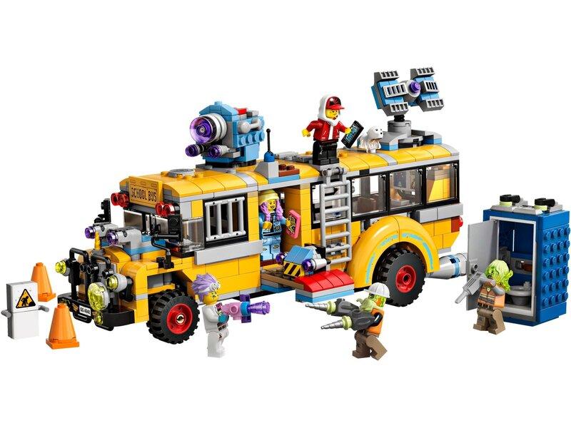 70423 LEGO® Hidden Side™ Vaiduoklių gaudytojų autobusas 3000 internetu