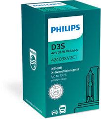 Automobilinė ksenon lemputė Philips Xenon X-tremeVision D3S +150%, 4800k kaina ir informacija | Philips Elektros įranga | pigu.lt