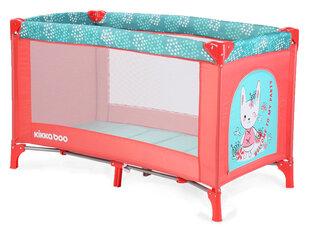 Kelioninis maniežas lovytė Kikkaboo Pyjama Party Kitty's kaina ir informacija | Maniežai vaikams | pigu.lt
