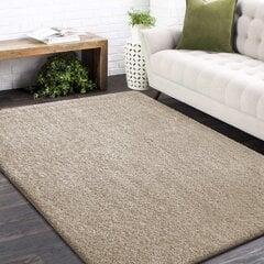 Neslystantis kilimas Shaggy smėlio spalvos, 160x220 cm, 20 mm, polipropilenas kaina ir informacija | Kilimai | pigu.lt