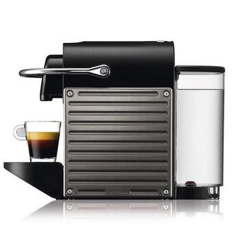 Nespresso Pixie Titan, sidabrinė kaina ir informacija | Kavos aparatai | pigu.lt