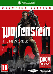 Wolfenstein: The New Order - Occupied Edition, XBox One kaina ir informacija | Wolfenstein: The New Order - Occupied Edition, XBox One | pigu.lt