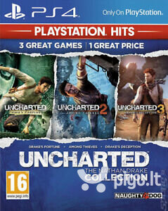 Uncharted: The Nathan Drake Collection PS4 atsiliepimas