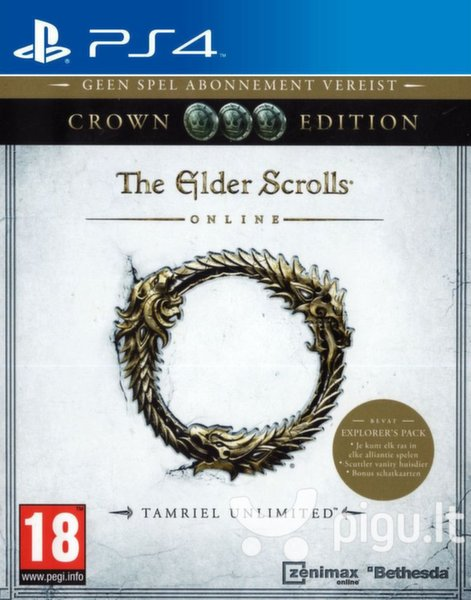 The Elder Scrolls Online: Tamriel Unlimited - Crown Edition PS4