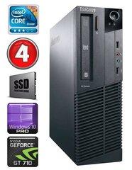 Lenovo ThinkCentre M82 SFF i3-2120 4GB 120SSD GT710 2GB WIN10Pro kaina ir informacija | Stacionarūs kompiuteriai | pigu.lt