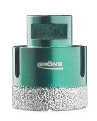 Deimantinė gręžimo karūnėlė M14 GRÖNE Ø 12 mm (2290-531412) kaina ir informacija | Mechaniniai įrankiai | pigu.lt