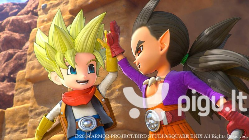 Dragon Quest Builders 2 NSW kaina