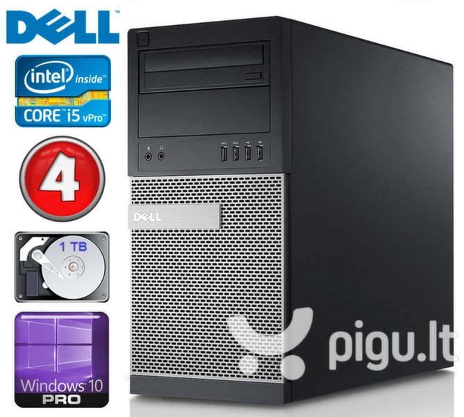 DELL 790 MT i5-2400 4GB 1TB DVD WIN10Pro