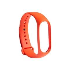 Xiaomi Mi Band 3/4 dirželis, Orange kaina ir informacija | Išmaniųjų laikrodžių ir apyrankių priedai | pigu.lt
