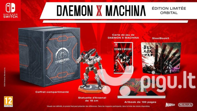Daemon X Machina Orbital Limited Edition NSW
