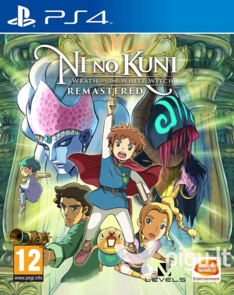 Ni No Kuni: Wrath of the White Witch - Remastered (PS4)