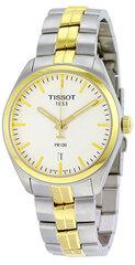 Moteriškas laikrodis Tissot T-Classic PR100 Gent T101.410.22.031.00 kaina ir informacija | Moteriški laikrodžiai | pigu.lt