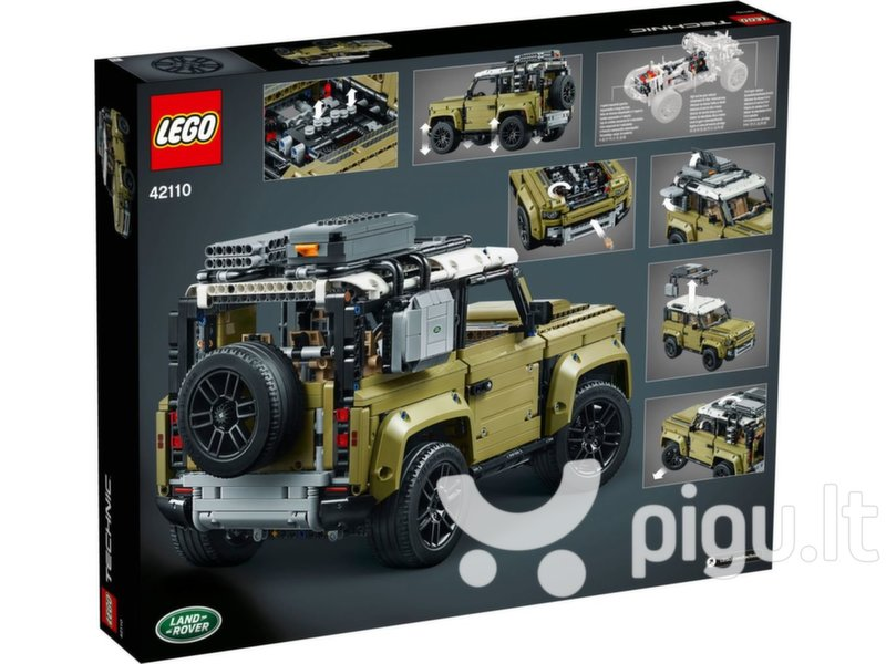 42110 LEGO® Technic Land Rover Defender kaina