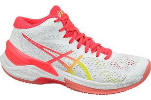 Sportiniai batai moterims Asics 1052A023-100, balti kaina ir informacija | Sportiniai bateliai, kedai moterims | pigu.lt