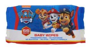Drėgnos servetėlės vaikams Šunyčiai Patruliai (Paw Patrol), 56 vnt. kaina ir informacija | Drėgnos servetėlės, paklotai | pigu.lt