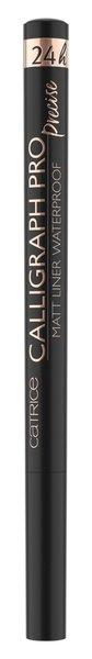 Akių apvadas Catrice Calligraph Pro Precise 24h Matt Liner WP 010 1.2 ml kaina