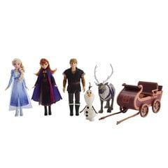 Lėlių ir figūrėlių su rogėmis rinkinys Hasbro Ledo šalis 2 (Frozen 2) kaina ir informacija | Lėlių ir figūrėlių su rogėmis rinkinys Hasbro Ledo šalis 2 (Frozen 2) | pigu.lt