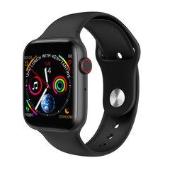 Microwear W34 ECG, Black kaina ir informacija | Išmanieji laikrodžiai (smartwatch) | pigu.lt