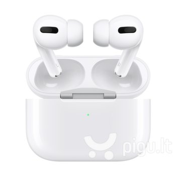 Apple AirPods Pro + wireless charging case (MWP22ZM/A) kaina ir informacija | Apple AirPods Pro + wireless charging case (MWP22ZM/A) | pigu.lt
