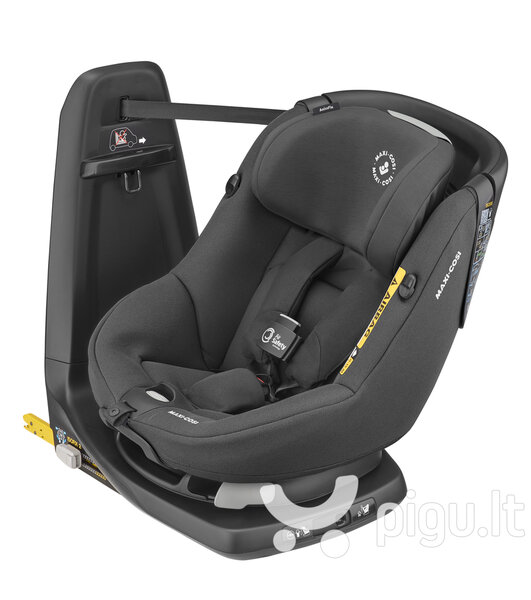 Maxi Cosi automobilinė kėdutė AxissFix Air, Authentic Black, 9-18 kg