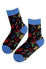 Kojinės moterims Music, juodos kaina ir informacija | Moteriškos kojinės | pigu.lt