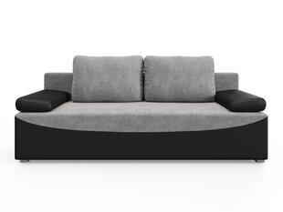 Sofa Victoria, juoda/pilka kaina ir informacija   Sofos   pigu.lt