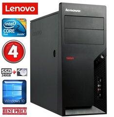 Lenovo M58e MT E7500 4GB 240SSD+1TB Win10 kaina ir informacija | Lenovo M58e MT E7500 4GB 240SSD+1TB Win10 | pigu.lt