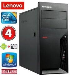 Lenovo M58e MT E7500 4GB 120SSD+160GB Win7Pro kaina ir informacija | Lenovo M58e MT E7500 4GB 120SSD+160GB Win7Pro | pigu.lt