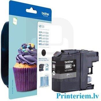 Rašalo kasetė LC123 Black Analog kaina ir informacija | Kasetės rašaliniams spausdintuvams | pigu.lt