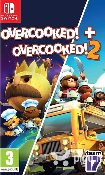 Overcooked! + Overcooked! 2, Nintendo Switch
