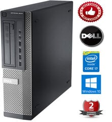 Dell Optiplex 7010 Intel Core i7-3770 8GB 480GB SSD Windows 10 Professional kaina ir informacija | Dell Optiplex 7010 Intel Core i7-3770 8GB 480GB SSD Windows 10 Professional | pigu.lt