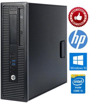 HP ProDesk 400 G1 i5-4570 4GB 256SSD Windows 10 Professional kaina ir informacija | Stacionarūs kompiuteriai | pigu.lt