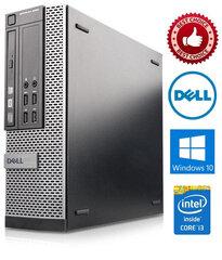 Dell Optiplex 7020 i3-4150 3.5Ghz 8GB 500GB Windows 10 Professional kaina ir informacija | Stacionarūs kompiuteriai | pigu.lt
