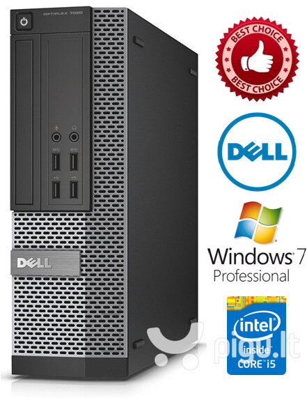 Dell Optiplex 7020 i3-4150 3.5Ghz 8GB 500GB HDD Windows 7 Professional