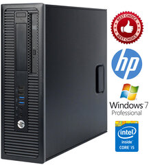 HP ProDesk 600 G1 i3-4130 4GB 240SSD Windows 7 Professional kaina ir informacija | HP ProDesk 600 G1 i3-4130 4GB 240SSD Windows 7 Professional | pigu.lt