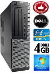 DELL Optiplex 7010 Core i5-3470 4GB 250GB DVD Windows 7 Professional kaina ir informacija | DELL Optiplex 7010 Core i5-3470 4GB 250GB DVD Windows 7 Professional | pigu.lt