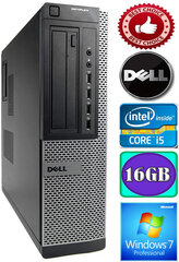 DELL Optiplex 7010 Core i5-3470 16GB 250GB DVD Windows 7 Professional kaina ir informacija | DELL Optiplex 7010 Core i5-3470 16GB 250GB DVD Windows 7 Professional | pigu.lt