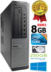 DELL Optiplex 7010 Core i3-3220 3.30GHZ 8GB 250GB DVD Windows 10 kaina ir informacija | DELL Optiplex 7010 Core i3-3220 3.30GHZ 8GB 250GB DVD Windows 10 | pigu.lt