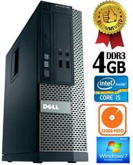Dell Optiplex 390 i5-2400 4GB 320GB DVDRW Windows 7 Professional kaina ir informacija | Dell Optiplex 390 i5-2400 4GB 320GB DVDRW Windows 7 Professional | pigu.lt